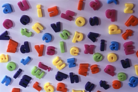 Jumbled letters of dyslexia